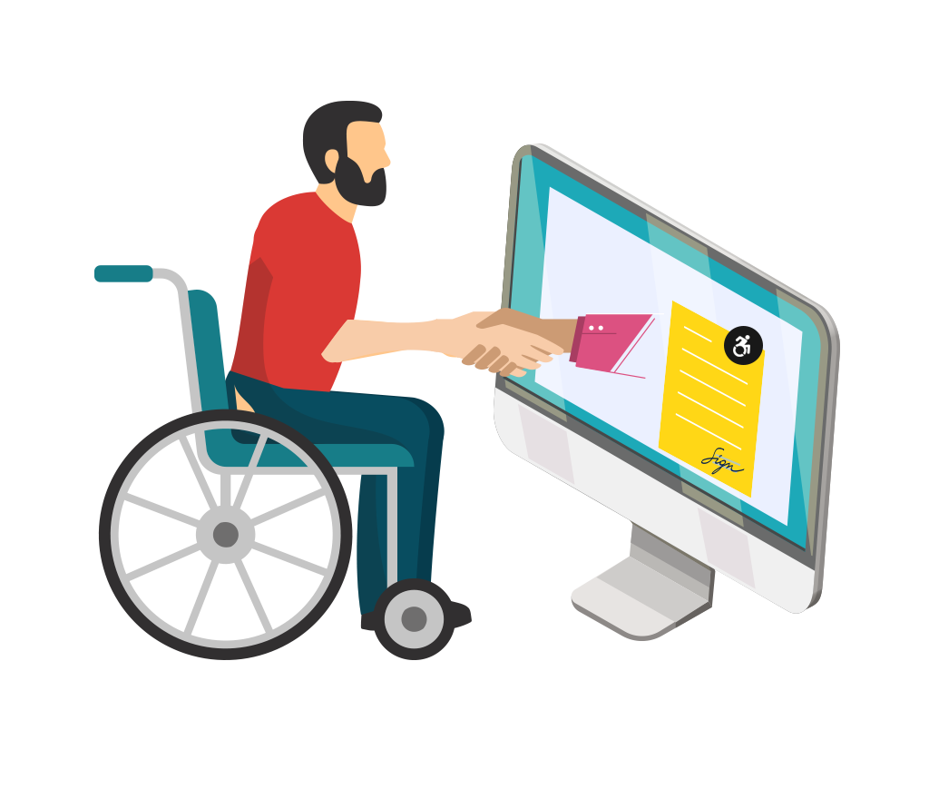 Express your commitment towards accessibility